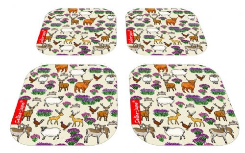 Selina-Jayne Scottish Highlands Limited Edition Designer Coaster Gift Set